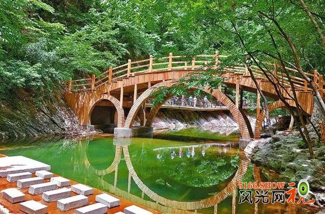 在陕南明珠金丝峡清凉一夏